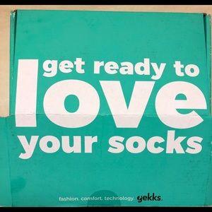 Gekks sock liners - NWT (set of three pair)